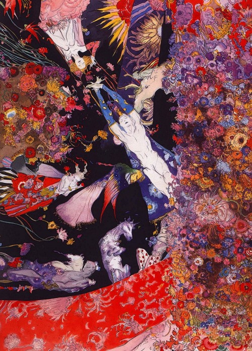 7 | Амано Еситака - Amano Yoshitaka. Безудержная фантазия | ARTeveryday.org