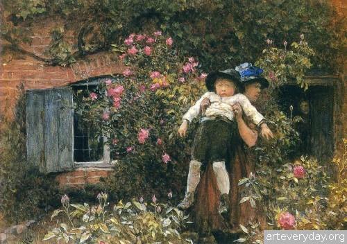 9 | Акварель Викторианской Эпохи | ARTeveryday.org
