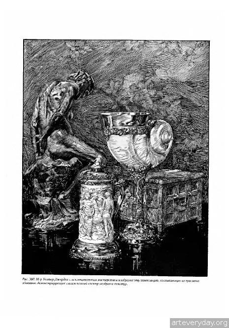 10 | Артур Лейтон Гаптилл. Работа пером и тушью | ARTeveryday.org