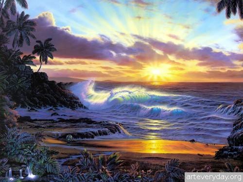10 | Christian Riese Lassen - Кристиан Риес Лассен. Маринист с Гавайских островов