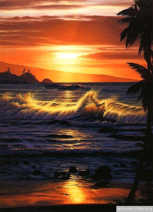 5 | Christian Riese Lassen - Кристиан Риес Лассен. Маринист с Гавайских островов