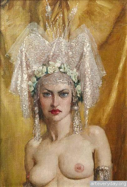 1 | Норман Линдсей - Norman Lindsay. Австралийский живописец | ARTeveryday.org