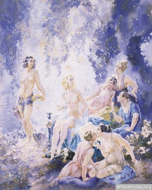 17 | Норман Линдсей - Norman Lindsay. Австралийский живописец | ARTeveryday.org
