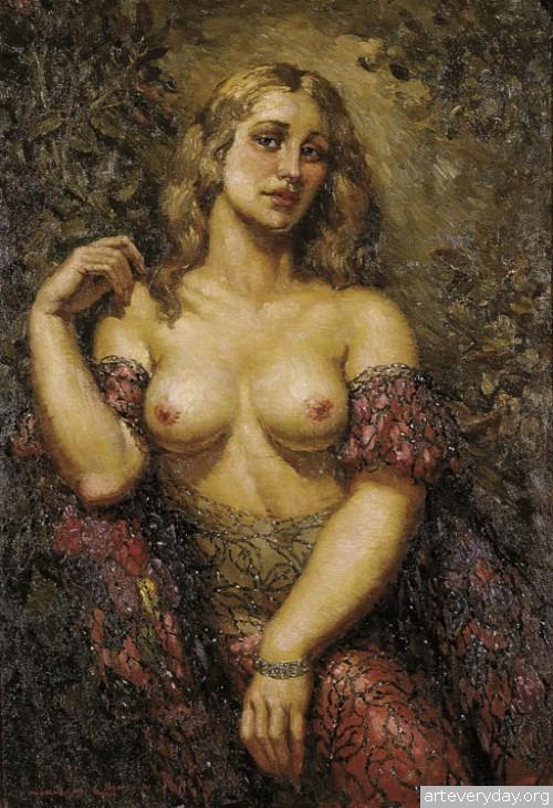 18 | Норман Линдсей - Norman Lindsay. Австралийский живописец | ARTeveryday.org