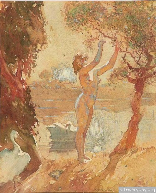 22 | Норман Линдсей - Norman Lindsay. Австралийский живописец | ARTeveryday.org
