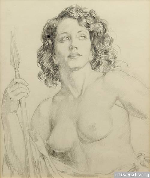 24 | Норман Линдсей - Norman Lindsay. Австралийский живописец | ARTeveryday.org