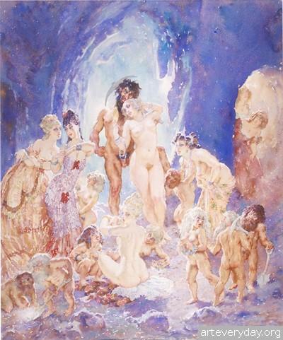 25 | Норман Линдсей - Norman Lindsay. Австралийский живописец | ARTeveryday.org