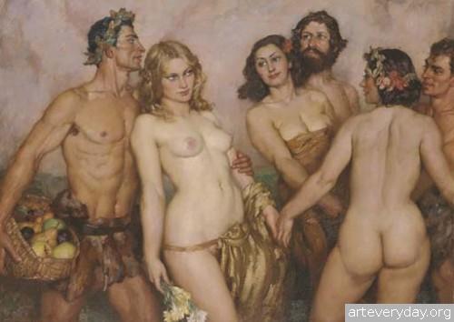 5 | Норман Линдсей - Norman Lindsay. Австралийский живописец | ARTeveryday.org