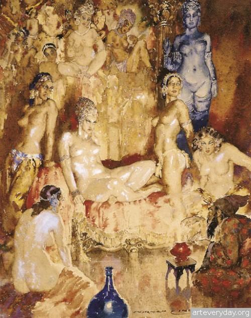 6 | Норман Линдсей - Norman Lindsay. Австралийский живописец | ARTeveryday.org