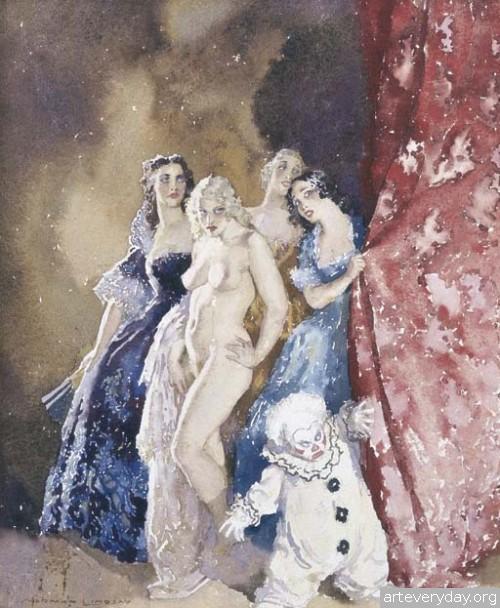 7 | Норман Линдсей - Norman Lindsay. Австралийский живописец | ARTeveryday.org