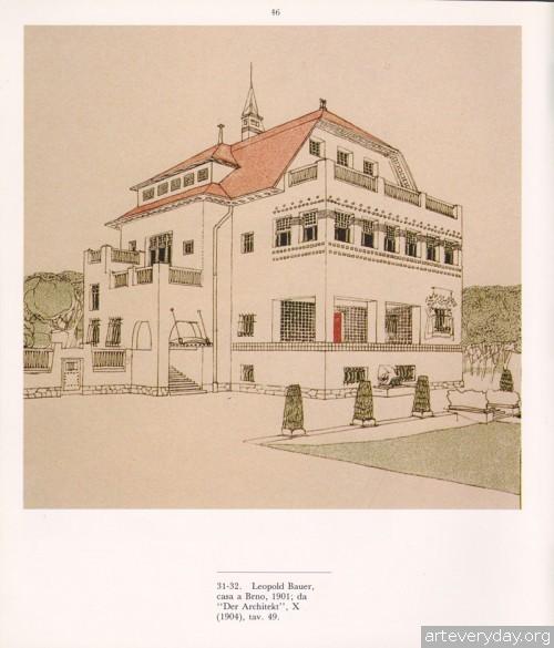 3 | Disegni della Wagnerschule - Архитектурная графика школы Отто Вагнера | ARTeveryday.org