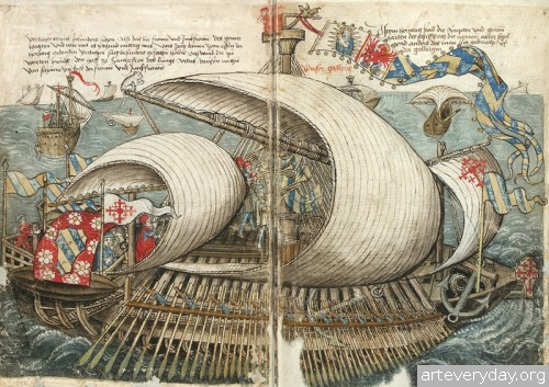 1 | Конрад Фон Грюненберг. Путешествие из Констанца в Иерусалим в 1487 году | ARTeveryday.org