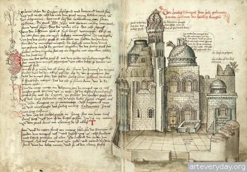 10 | Конрад Фон Грюненберг. Путешествие из Констанца в Иерусалим в 1487 году | ARTeveryday.org