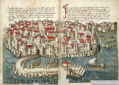 11 | Конрад Фон Грюненберг. Путешествие из Констанца в Иерусалим в 1487 году | ARTeveryday.org