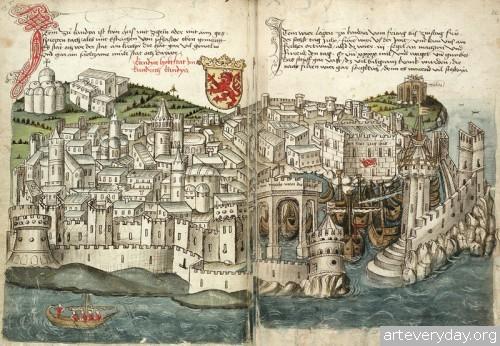 12 | Конрад Фон Грюненберг. Путешествие из Констанца в Иерусалим в 1487 году | ARTeveryday.org
