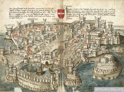 13 | Конрад Фон Грюненберг. Путешествие из Констанца в Иерусалим в 1487 году | ARTeveryday.org