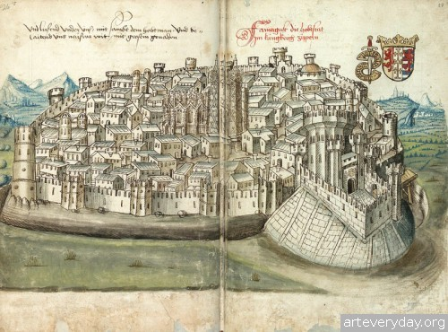 15 | Конрад Фон Грюненберг. Путешествие из Констанца в Иерусалим в 1487 году | ARTeveryday.org