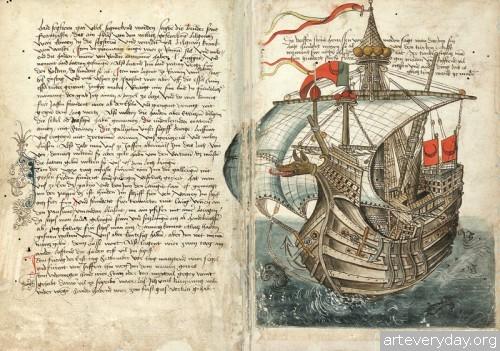 16 | Конрад Фон Грюненберг. Путешествие из Констанца в Иерусалим в 1487 году | ARTeveryday.org