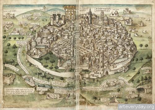 2 | Конрад Фон Грюненберг. Путешествие из Констанца в Иерусалим в 1487 году | ARTeveryday.org