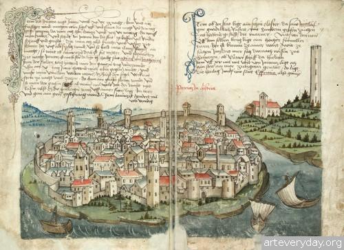 4 | Конрад Фон Грюненберг. Путешествие из Констанца в Иерусалим в 1487 году | ARTeveryday.org