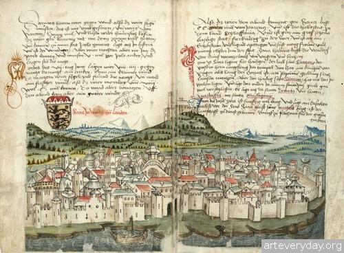 5 | Конрад Фон Грюненберг. Путешествие из Констанца в Иерусалим в 1487 году | ARTeveryday.org