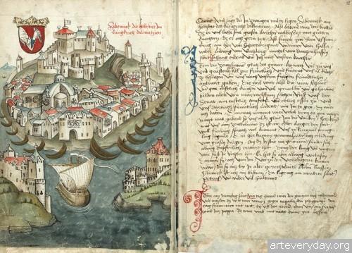6 | Конрад Фон Грюненберг. Путешествие из Констанца в Иерусалим в 1487 году | ARTeveryday.org