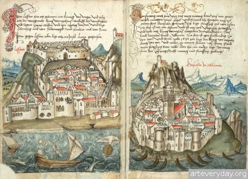7 | Конрад Фон Грюненберг. Путешествие из Констанца в Иерусалим в 1487 году | ARTeveryday.org