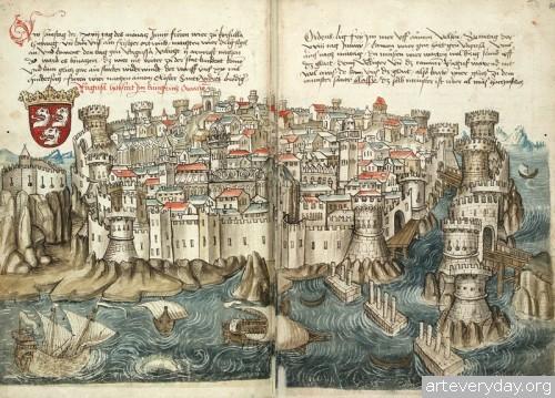 8 | Конрад Фон Грюненберг. Путешествие из Констанца в Иерусалим в 1487 году | ARTeveryday.org