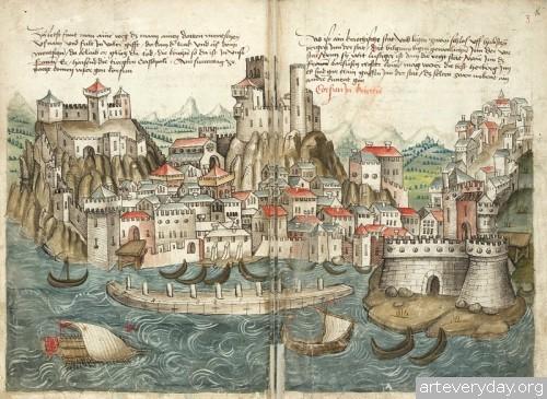 9 | Конрад Фон Грюненберг. Путешествие из Констанца в Иерусалим в 1487 году | ARTeveryday.org
