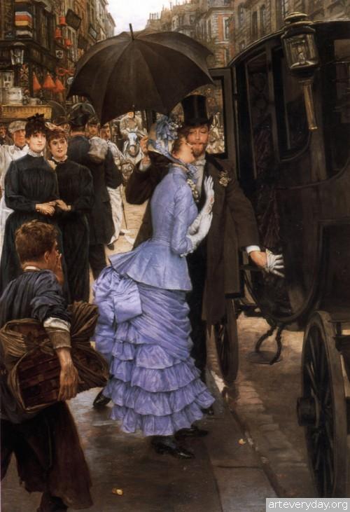 1 | Тиссо Джеймс - Tissot James. Мастер салонной живописи Викторианской эпохи | ARTeveryday.org