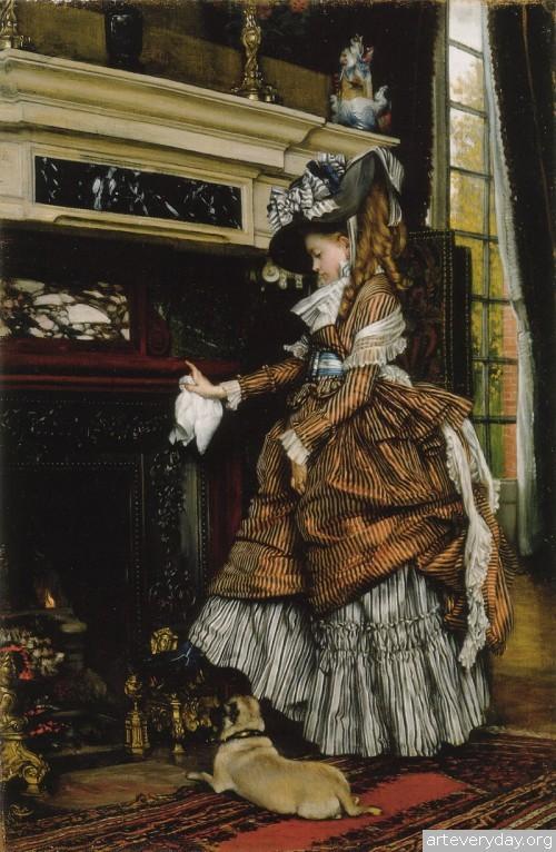 10 | Тиссо Джеймс - Tissot James. Мастер салонной живописи Викторианской эпохи | ARTeveryday.org