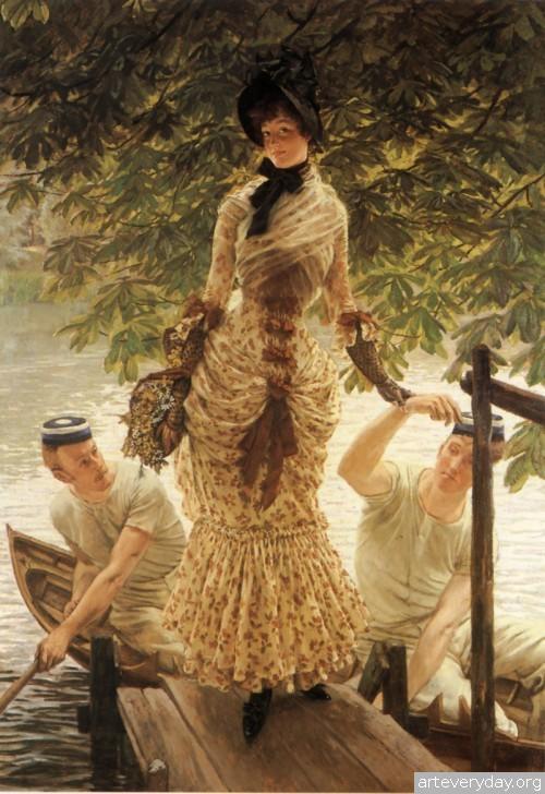 12 | Тиссо Джеймс - Tissot James. Мастер салонной живописи Викторианской эпохи | ARTeveryday.org