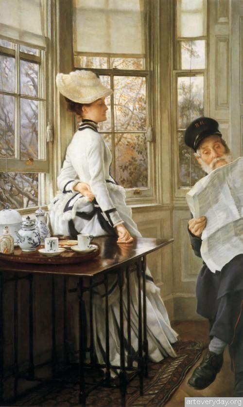 14 | Тиссо Джеймс - Tissot James. Мастер салонной живописи Викторианской эпохи | ARTeveryday.org