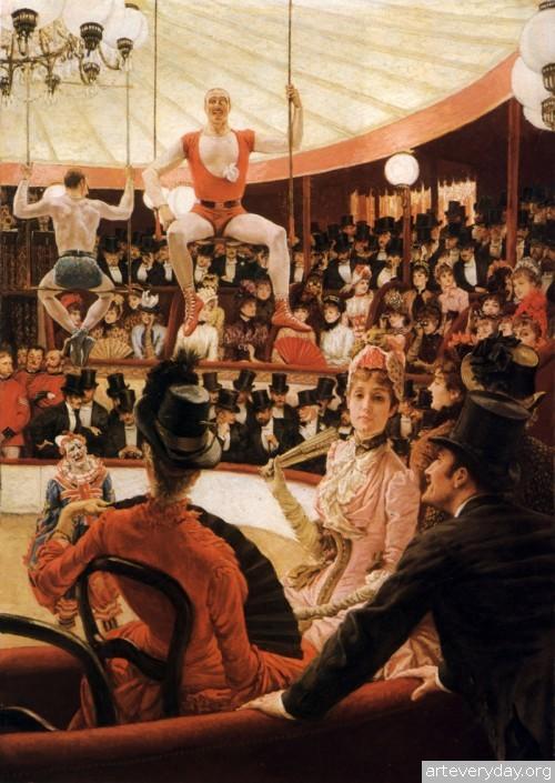 19 | Тиссо Джеймс - Tissot James. Мастер салонной живописи Викторианской эпохи | ARTeveryday.org