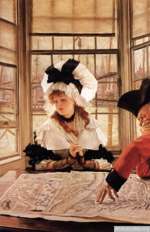 20 | Тиссо Джеймс - Tissot James. Мастер салонной живописи Викторианской эпохи | ARTeveryday.org