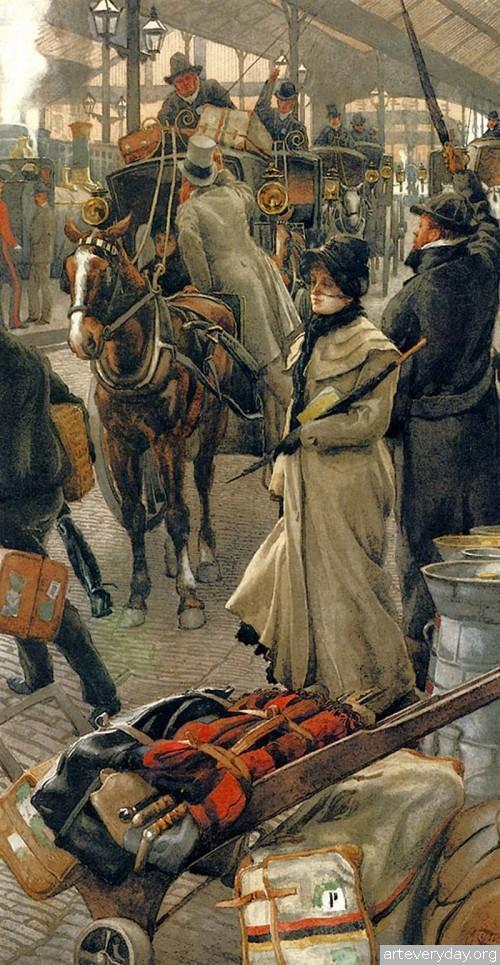 22 | Тиссо Джеймс - Tissot James. Мастер салонной живописи Викторианской эпохи | ARTeveryday.org