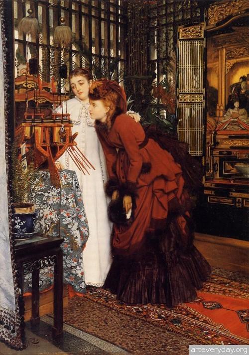 23 | Тиссо Джеймс - Tissot James. Мастер салонной живописи Викторианской эпохи | ARTeveryday.org