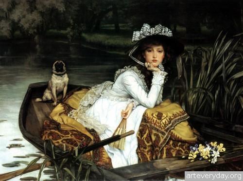 3 | Тиссо Джеймс - Tissot James. Мастер салонной живописи Викторианской эпохи | ARTeveryday.org