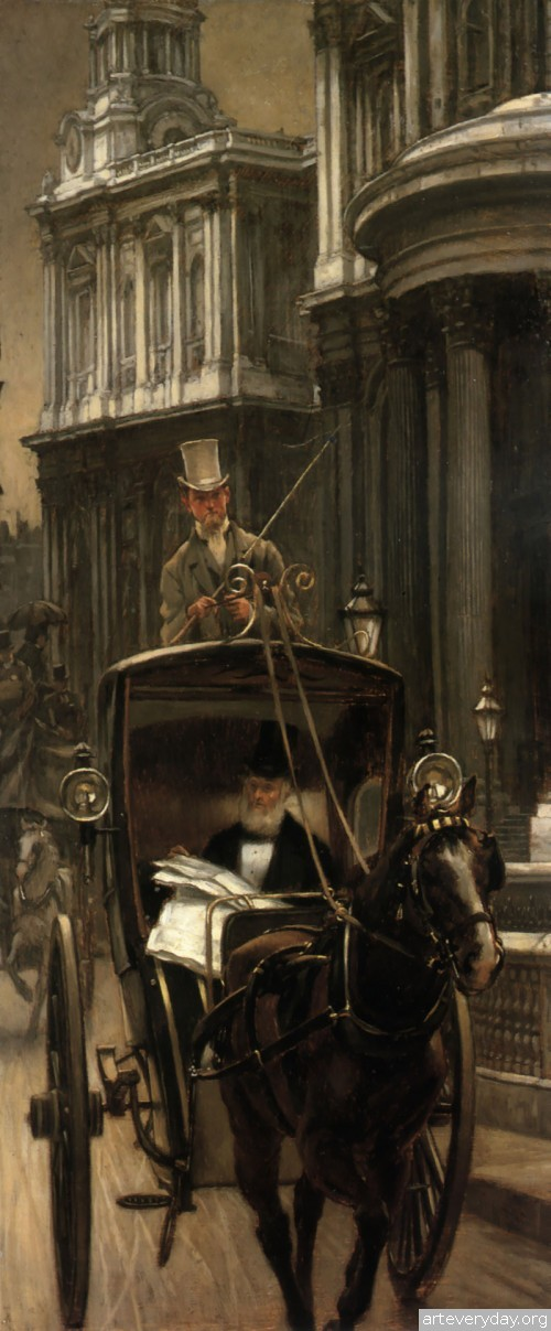 4 | Тиссо Джеймс - Tissot James. Мастер салонной живописи Викторианской эпохи | ARTeveryday.org