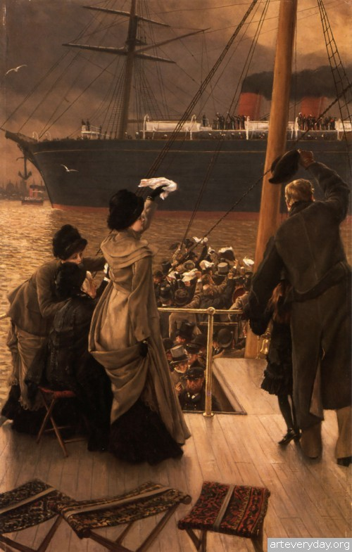 5 | Тиссо Джеймс - Tissot James. Мастер салонной живописи Викторианской эпохи | ARTeveryday.org