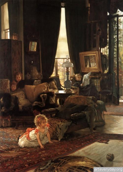 6 | Тиссо Джеймс - Tissot James. Мастер салонной живописи Викторианской эпохи | ARTeveryday.org