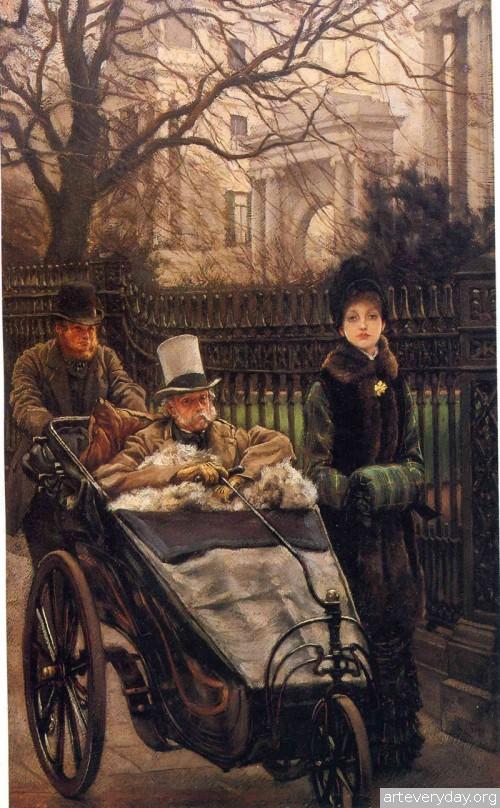 7 | Тиссо Джеймс - Tissot James. Мастер салонной живописи Викторианской эпохи | ARTeveryday.org
