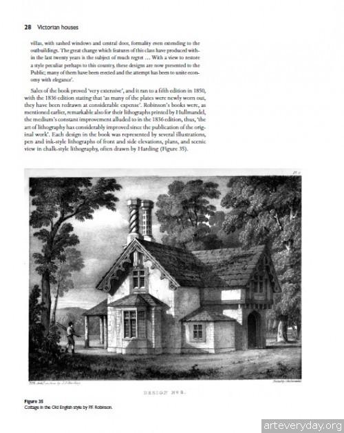 3 | Дома Викторианской эпохи. Планы и детали | ARTeveryday.org