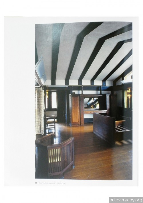 4 | Фрэнк Ллойд Райт - Frank Lloyd Wright. Интерьеры и мебель | ARTeveryday.org
