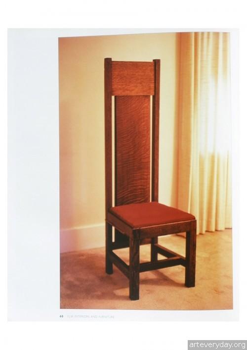 6 | Фрэнк Ллойд Райт - Frank Lloyd Wright. Интерьеры и мебель | ARTeveryday.org