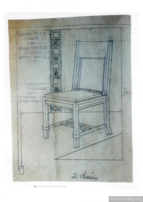 10 | Фрэнк Ллойд Райт - Frank Lloyd Wright. Интерьеры и мебель | ARTeveryday.org