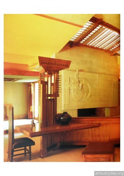11 | Фрэнк Ллойд Райт - Frank Lloyd Wright. Интерьеры и мебель | ARTeveryday.org