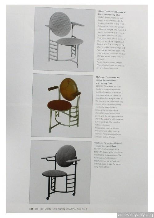 12 | Фрэнк Ллойд Райт - Frank Lloyd Wright. Интерьеры и мебель | ARTeveryday.org