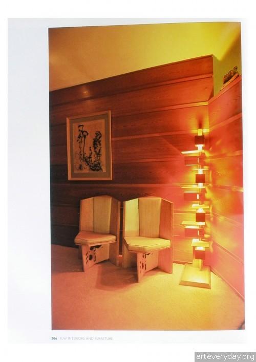 13 | Фрэнк Ллойд Райт - Frank Lloyd Wright. Интерьеры и мебель | ARTeveryday.org