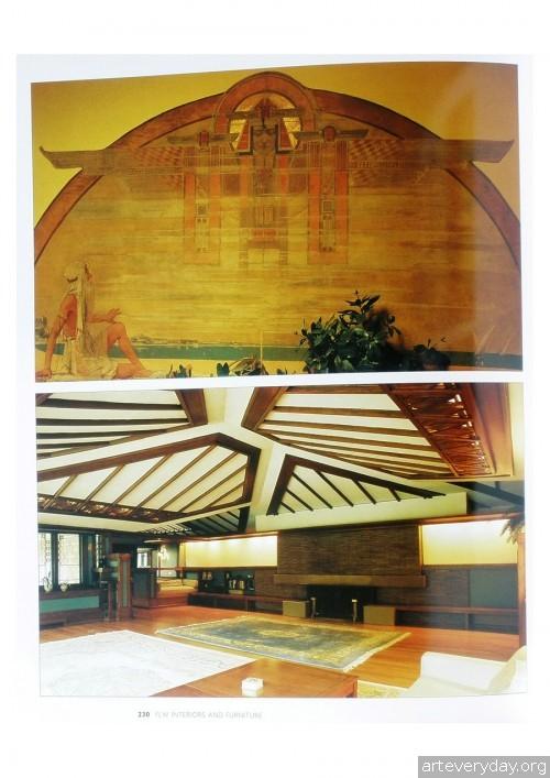 14 | Фрэнк Ллойд Райт - Frank Lloyd Wright. Интерьеры и мебель | ARTeveryday.org